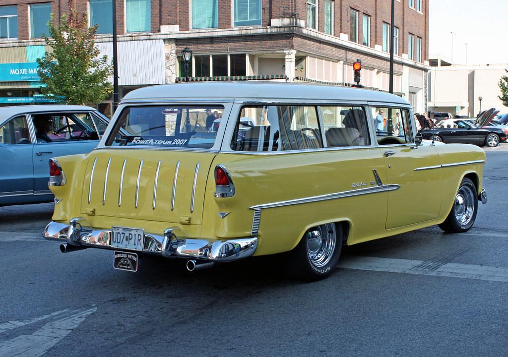 1955 chevrolet 210 handyman 2 door station wagon 5 of 7 for 1955 chevy 4 door wagon