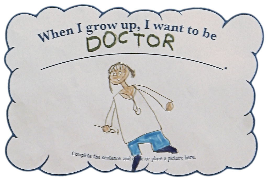 When I grow up, I want to be a doctor (age 5) | Donna & Andrew ...