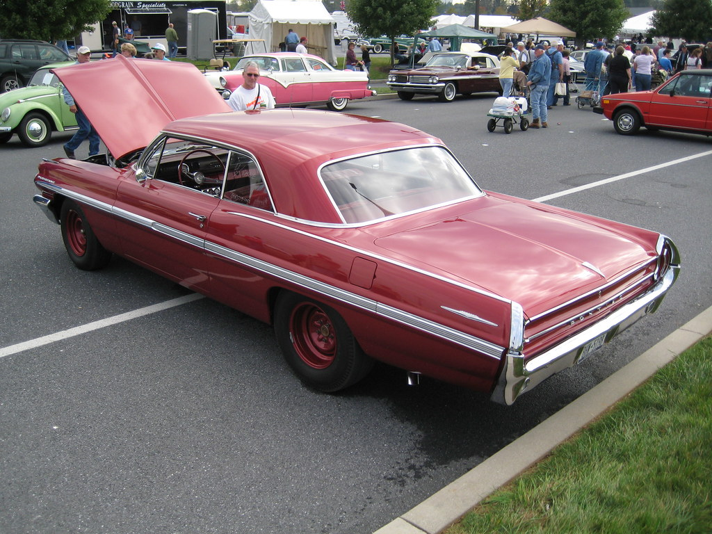 Cars For Sale >> 1962 Pontiac | In the Car Corral area, cars for sale at the … | Flickr