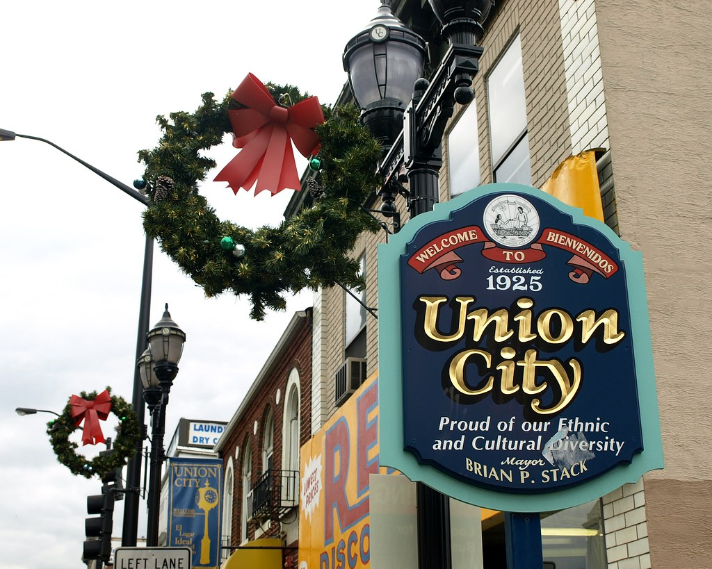 Union City Nj On Map