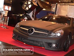 kfz-vollverklebung-Mercedes-SL55-SL63-AMG-carwrapping-foliencenter-folie statt lack-ultra schwarz matt-auto bekleben_024 | by Foliencenter