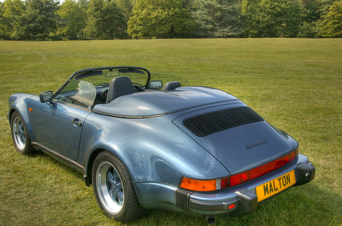 1989 Porsche 911 Speedster The Only Baltic Blue Right