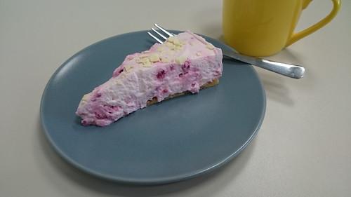 Himbeer-Frischkäse-Torte (anlässlich des Geburtstages einer Kollegin)