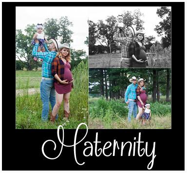 Maternity Portfolio Button