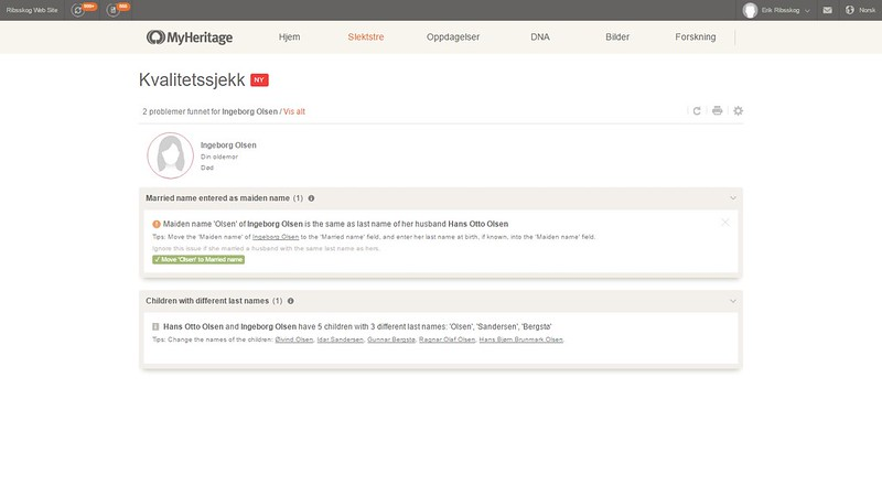 mer om problemer myheritage