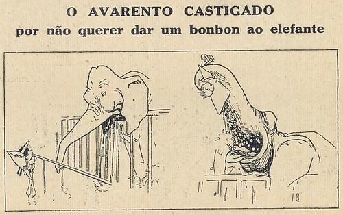 Almanaque Bertrand, 1934 - Avarice Punished 36