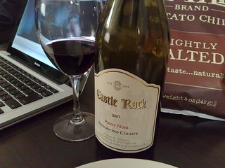 Castle Rock Pinot Noir | by luckypines