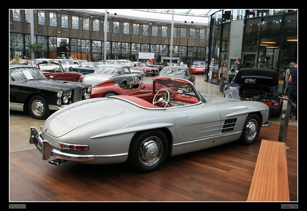 Replica Of 1957 Mercedes Benz W198 Ii 300 Sl Roadster 23