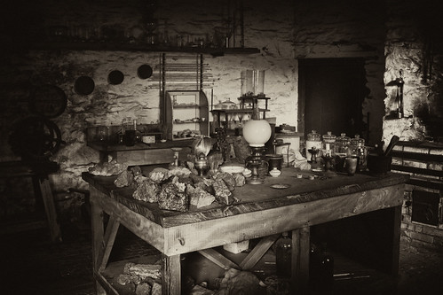 Old Lab From Early 1900 When Chemistry Was Still Real