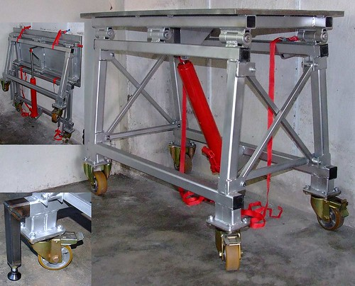 Folding Welding Table By S Witt A Fold Up Welding