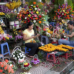 7071 Selling flowers--Ho Chi Minh City , Vietnam