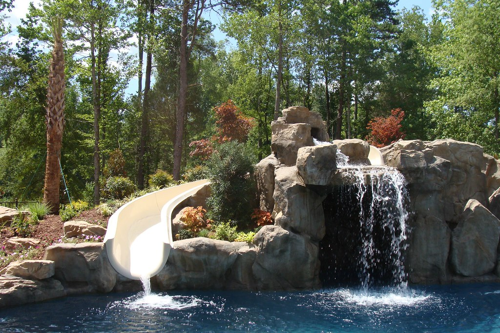 Weddington Nc Pool Grotto Landscape Design We Were