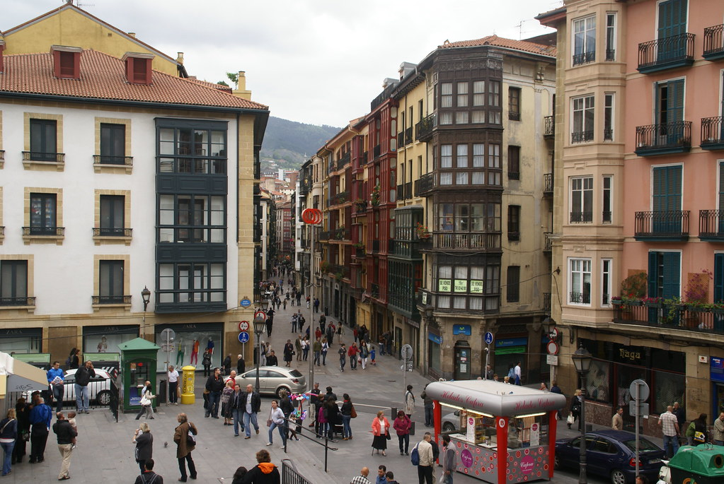 Casco viejo bilbao the casco viejo the old town in - Casco antiguo de girona ...