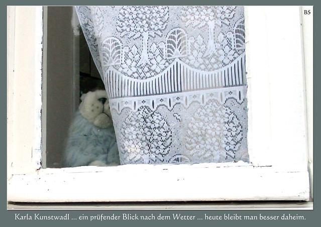 Wetter Mannheim, 9. Februar 2017 ... Meteorologin Karla Kunstwadl ... Neckarufer Seckenheim ... Kleiner Schlechtwetter-Trost: Earl Grey-Tee und Schokoplätzchen ... Fotos: Brigitte Stolle, Mannheim