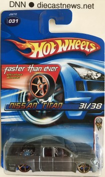 2006 Hot Wheels, 2006 Nissan Titan, 2006 First Editions 31/38