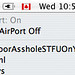 Confrontation via Wireless Network name