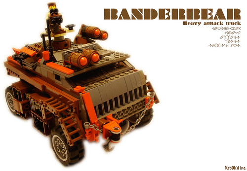 Banderbear Heavy Attack Truck | by The Slushey One