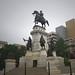 Status of George Washington on capitol grounds