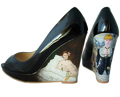 Edouard Manet Shoes | by Hippy of Doom