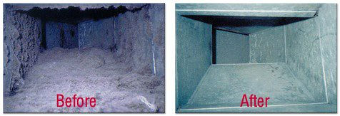 Air Duct Cleaning Before And After Air Duct Cleaning