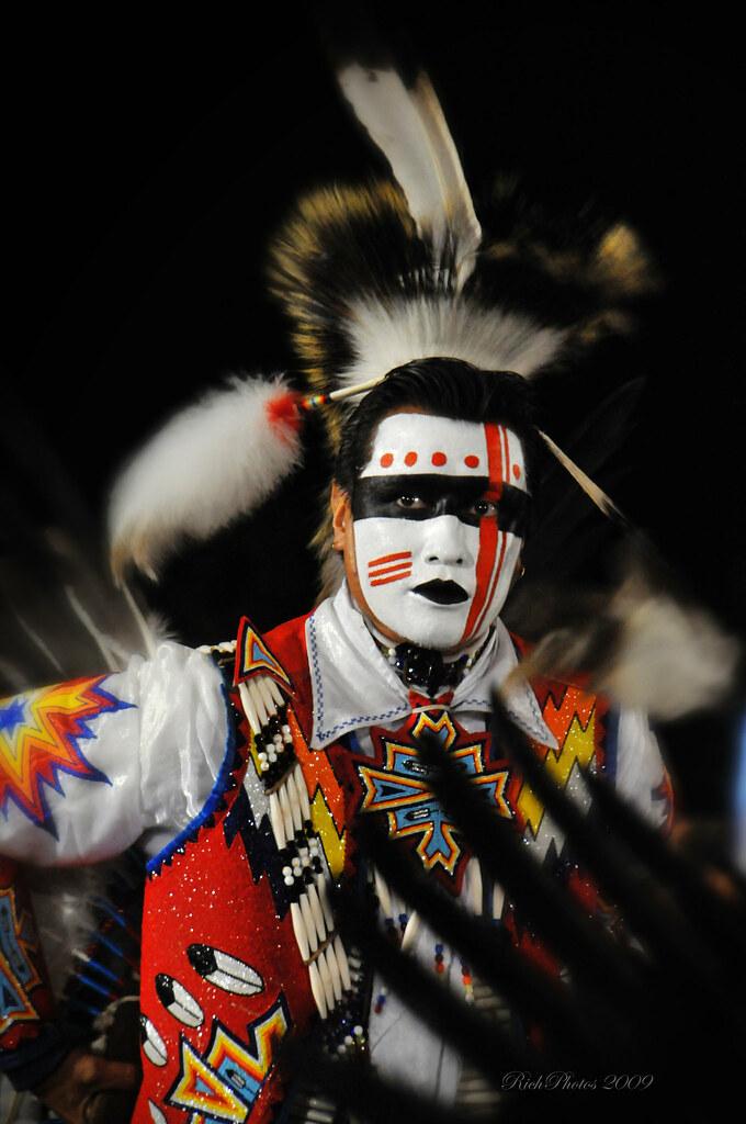 Indian Male Dancer Face Paint