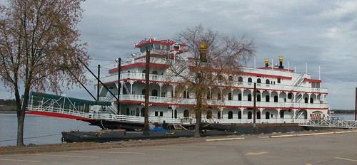 The Mississippi  Belle II.  River Boat and Casino.    1 of 2 photos..HPIM3621 | by Dan Around Town