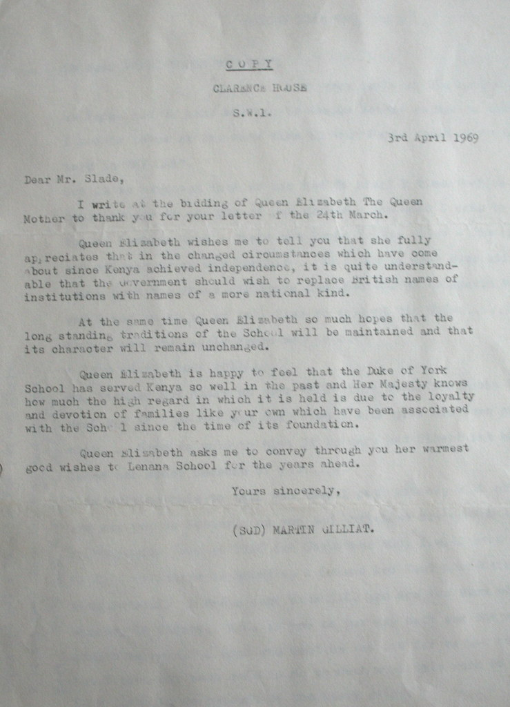 Letter from clarence house regarding name change from duke flickr spiritdancerdesigns Image collections