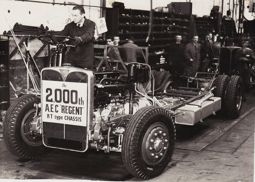 2 000th A E C Regent Rt Chassis The 2 000th Aec Regent