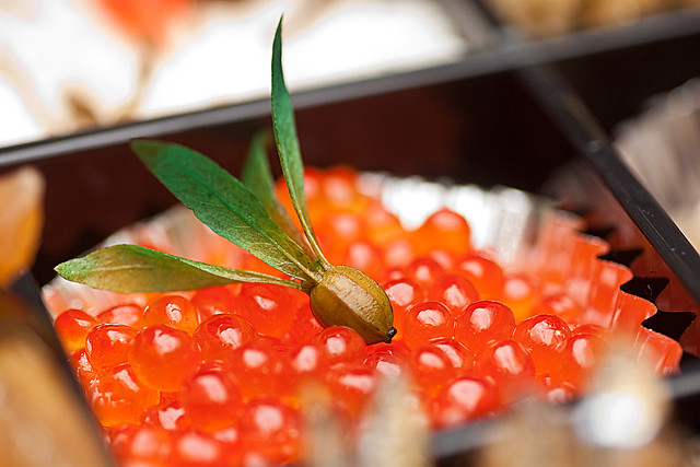 Japanese New Years Cuisine (Salmon Roe)