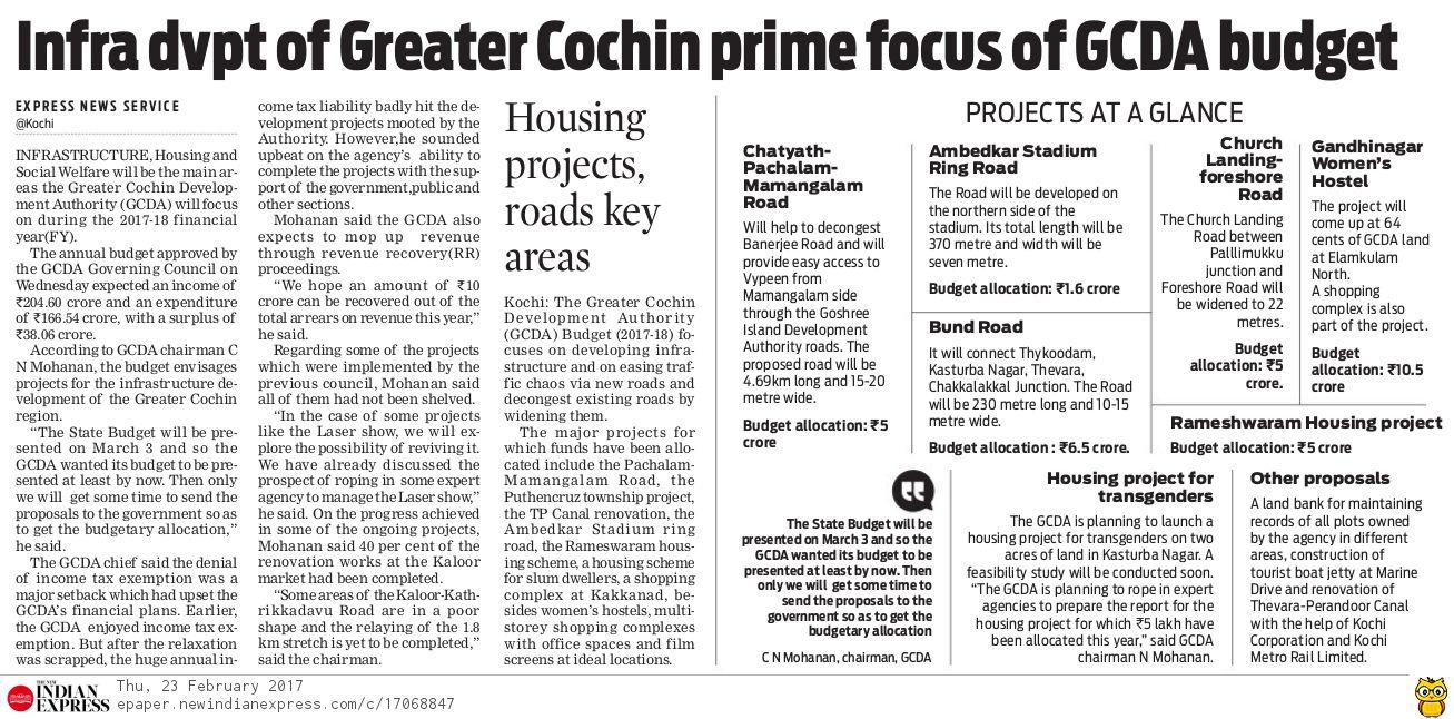Cochin (Kochi) / Ernakulam Projects II - Page 614 - SkyscraperCity