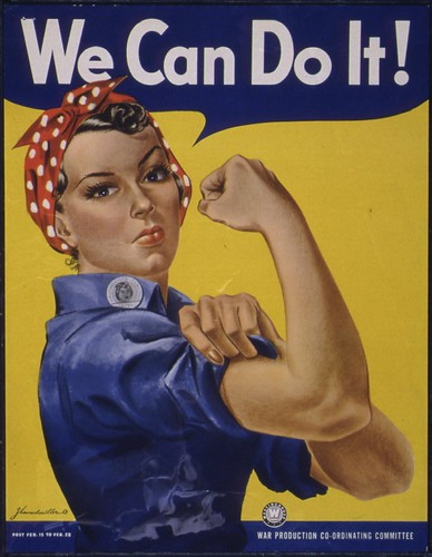 We Can Do It! | by The U.S. National Archives