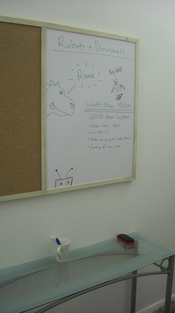 New Noticeboard In The Hall Mechatronics Guy Flickr