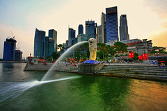 Merlion HDR | by Randi Ang
