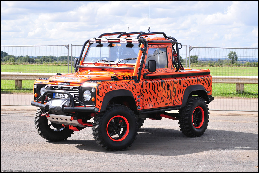 Off Road Power Santa Pod Land Rover Defender 90 Tiger T