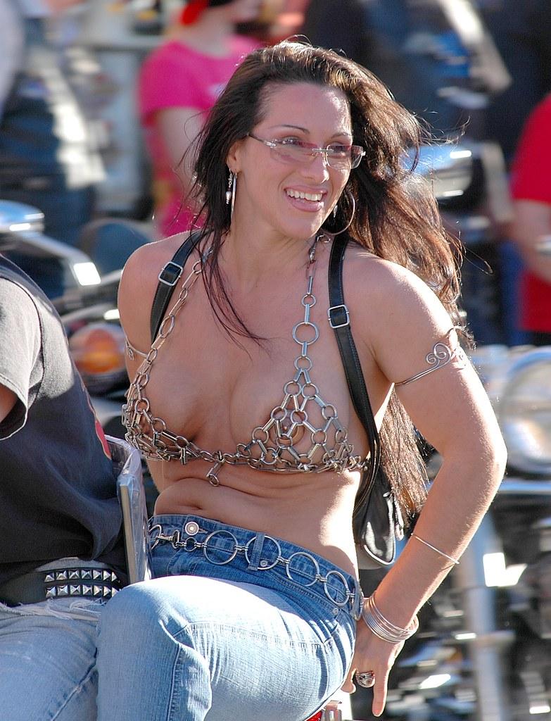 Biker Babe Daytona Bike Week 2005 Tom Tobin Flickr