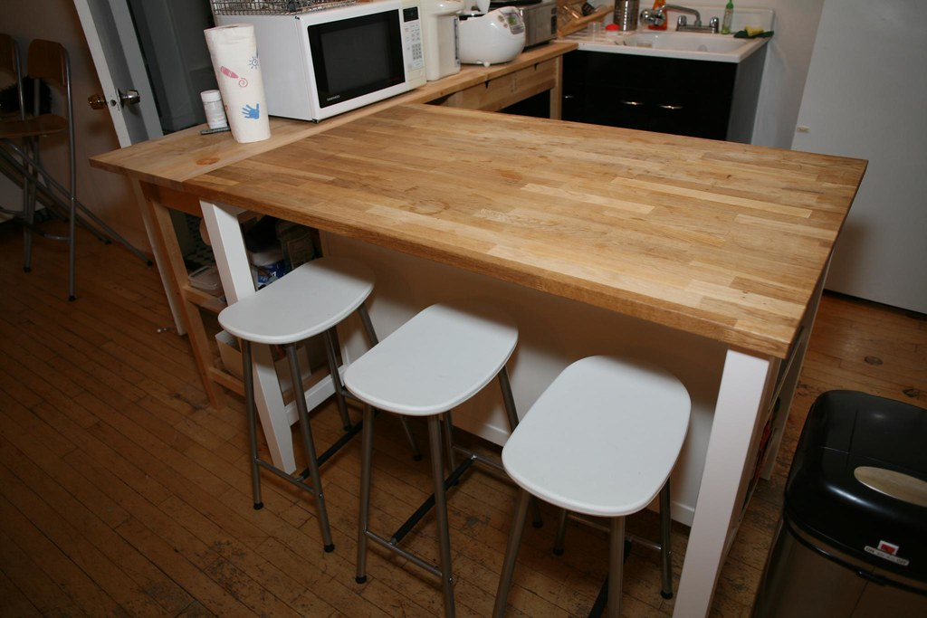 Ikea Kitchen Table With Drawers