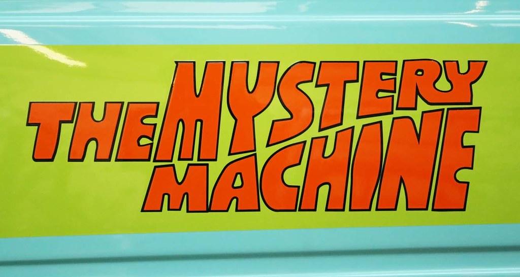 mystery machine vector
