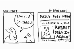 Sequence 30 - The Rabbit Is Famous for Not Recognizing Animals | by Paul Gude