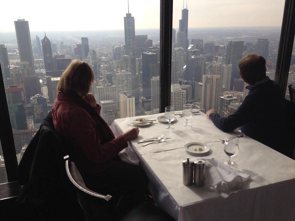 95th Floor Lunch Chicago Hancock Building Signature