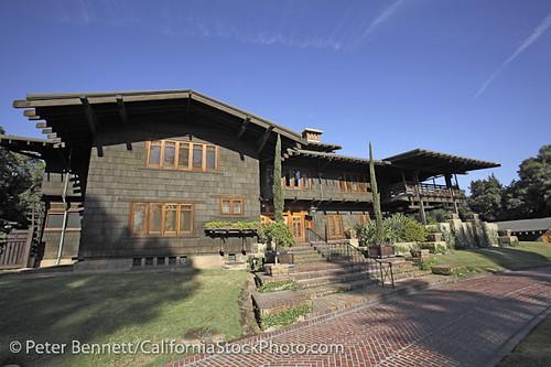 Pasadena Gamble House Greene Greene Craftsman House C