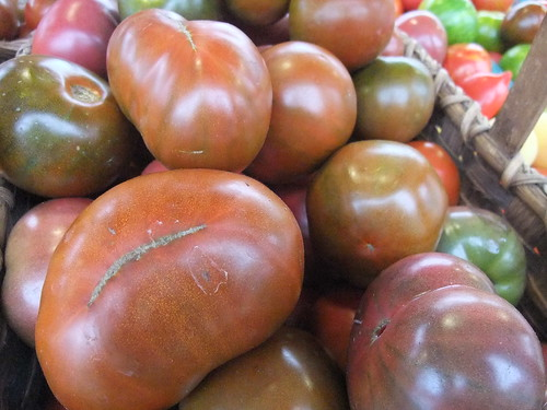 Heirloom Black Tomatoes | by swampkitty
