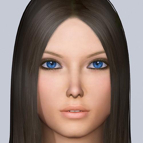 ... Female Character Model 15274 | 3d model of female human b… | Flickr