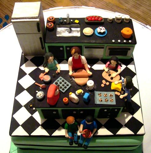 Chef Cake Ideas Designs