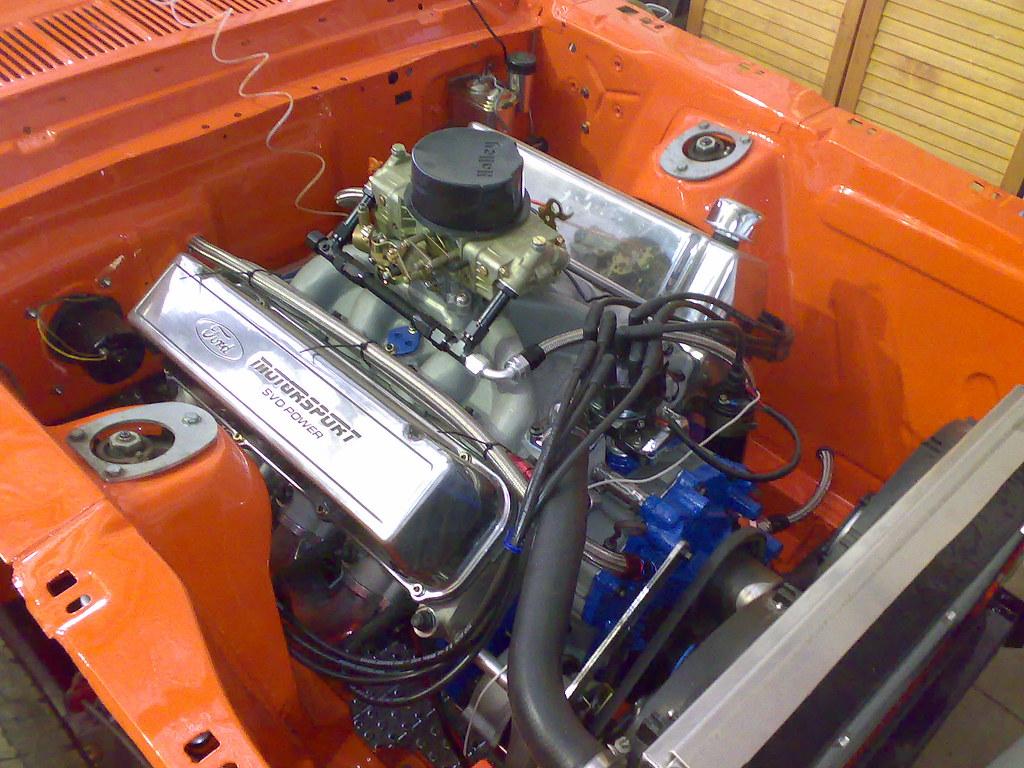 460 Big block in Dads 1966 Mustang   460 Big Block Ford ...