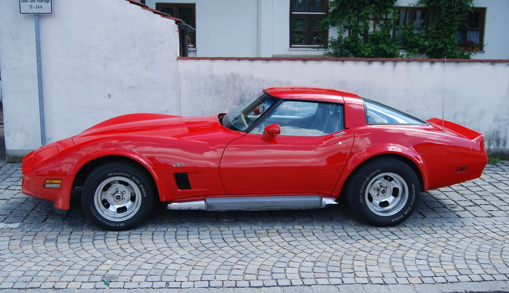 Chevrolet Corvette Stingray C3 L82 1976 Sweden Man Flickr