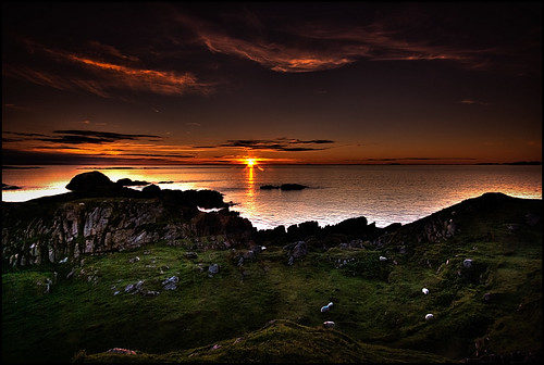 Sunset From Kintra - Isle of Mull | by silverlarynx