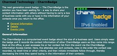 Charmed Technology - The next generation event badge | by caseorganic