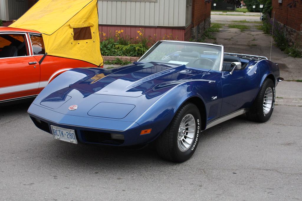 White Corvette Stingray >> 1973 Corvette Stingray convertible | Richard Spiegelman | Flickr