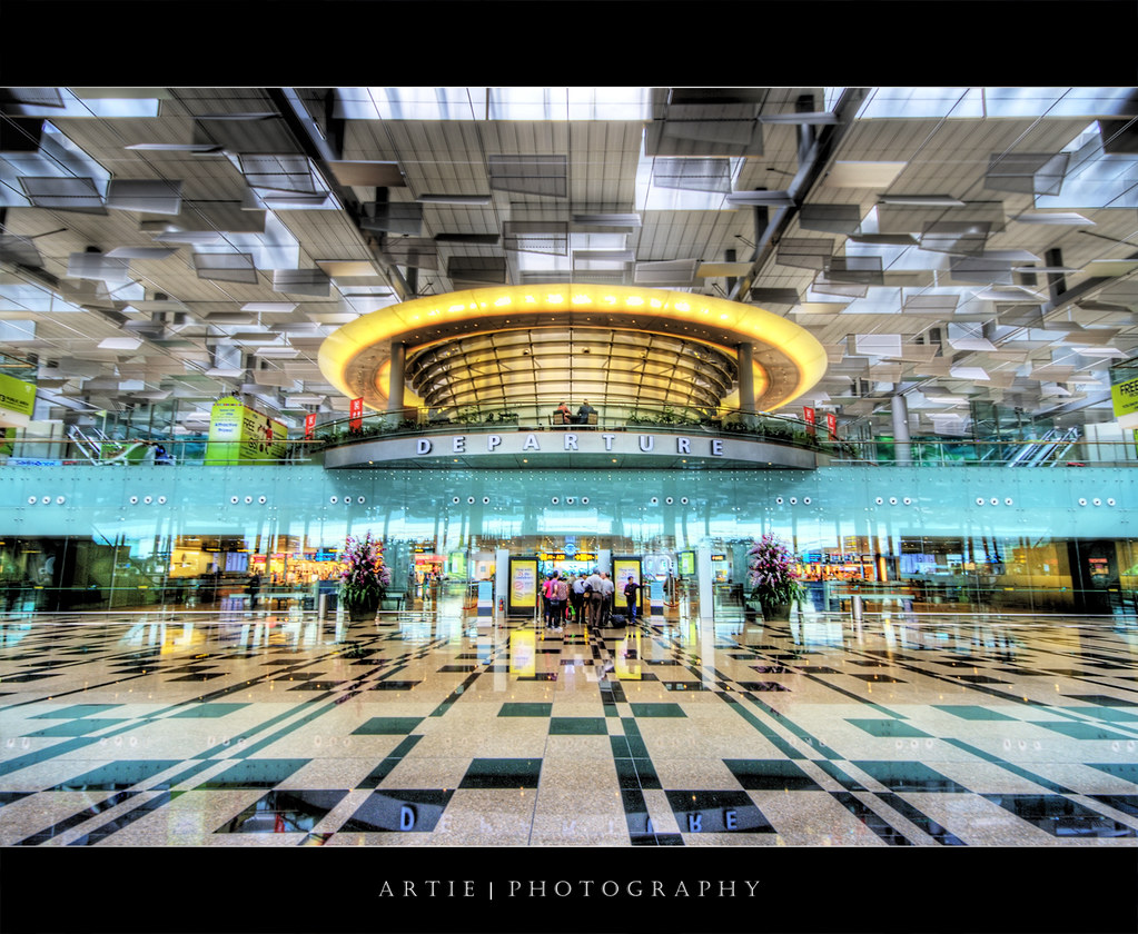 Changi Airport Terminal 3, Singapore :: HDR | I can't tell ...
