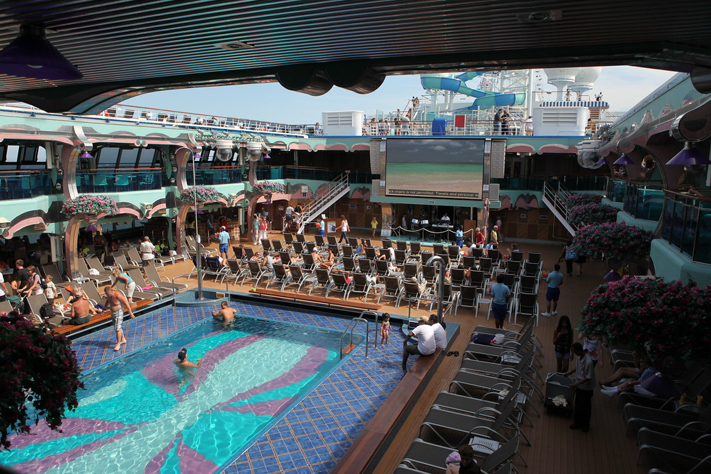 Carnival Splendor Pool Mexican Riviera Cruise 7 Day